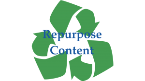 Repurpose Content | Healthcare and Medical Internet Marketing